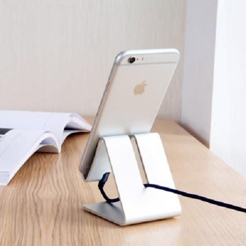 Giá đỡ khung nhôm cho điện thoại, máy tính bảng