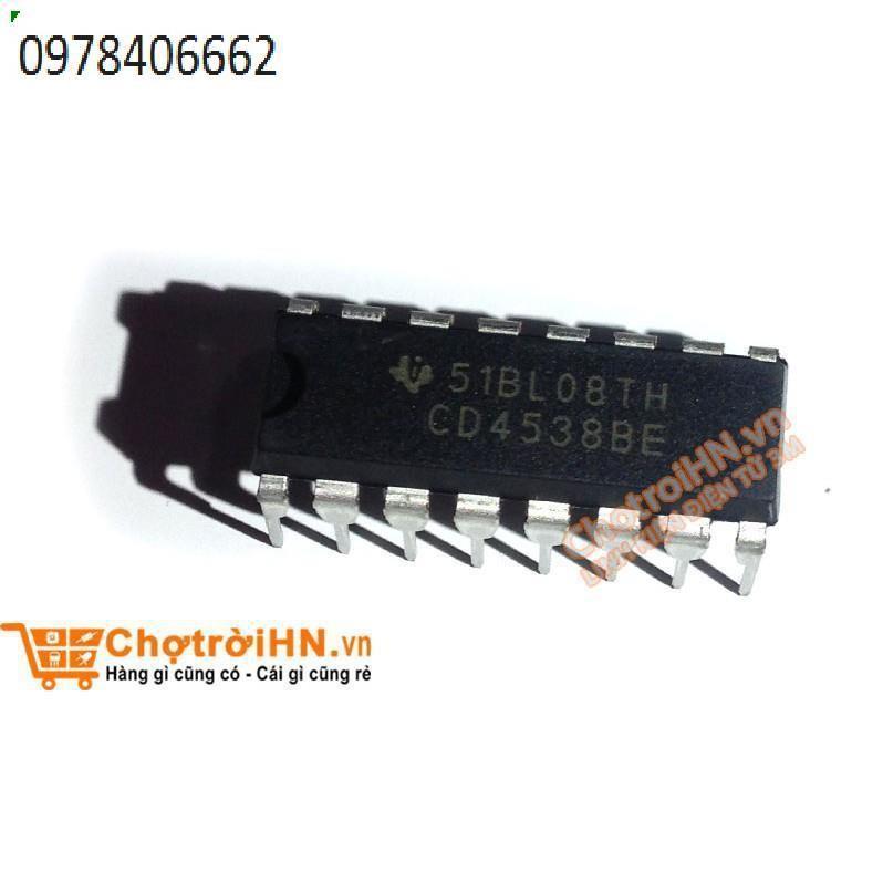 Chíp CD4538BE DIP16