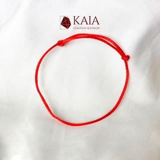 KAIA - Vòng tay handmade dây chỉ đỏ may mắn thumbnail