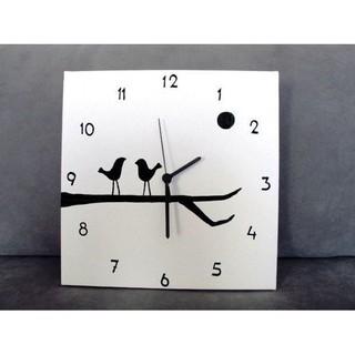 Đồng hồ treo tường decor Con chim