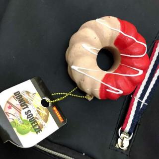 Móc chìa khóa Squishy Donut(ảnh thật tự chụp)