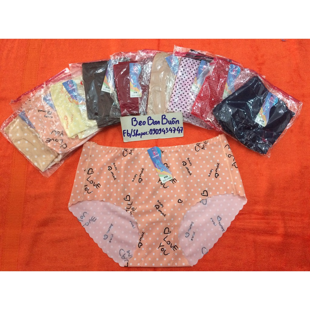 10 quần lót nữ không đường viền hàn quốc/ quần lót nữ/ quần sịp nữ - 3061384 , 306646228 , 322_306646228 , 255000 , 10-quan-lot-nu-khong-duong-vien-han-quoc-quan-lot-nu-quan-sip-nu-322_306646228 , shopee.vn , 10 quần lót nữ không đường viền hàn quốc/ quần lót nữ/ quần sịp nữ