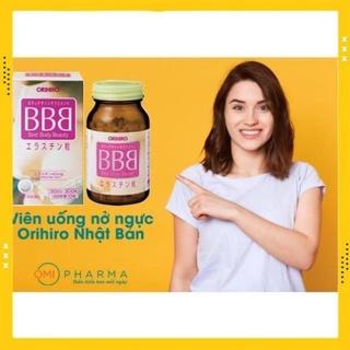 Viên uống nở ngực Best Body Beauty (BBB) Orihiro 300 viên [HÀNG NHẬT NỘI ĐỊA] tăng kích thước vòng 1