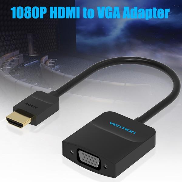 Cáp chuyển HDMI sang VGA (ABS) chính hãng Vention ACHBB