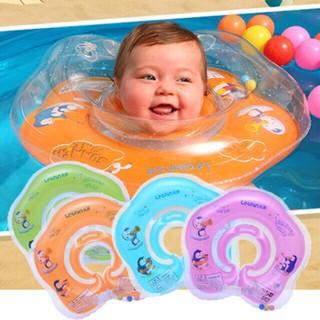 Phao bơi nâng cổ cho bé tập bơi có đai điều chỉnh cỡ tặng 5 bóng nhựa