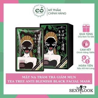 [Mã SKAMA8 giảm 8% đơn 300K] Mặt Nạ Tràm Trà Giảm Mụn SexyLook Tea Tree Anti Blemish Black Facial Mask thumbnail