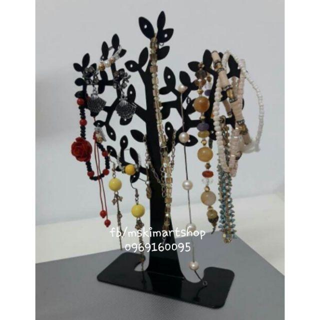 Cây treo hoa tai phụ kiện 8