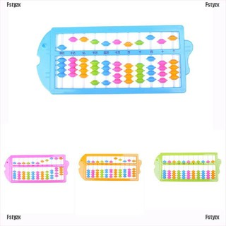 Fstyzx Plastic Abacus Maths Learning Toy For Children Kids Counting Number