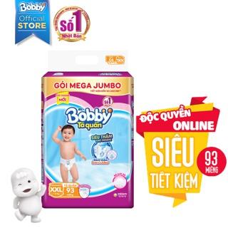 Hình ảnh [Toàn quốc] Tã quần Bobby siêu thoáng bịch Mega Jumbo M120/L111/XL102/XXL93-4
