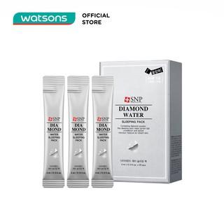 Mặt Nạ Ngủ Tinh Chất Kim Cương SNP Diamond Water Sleeping Pack 100g