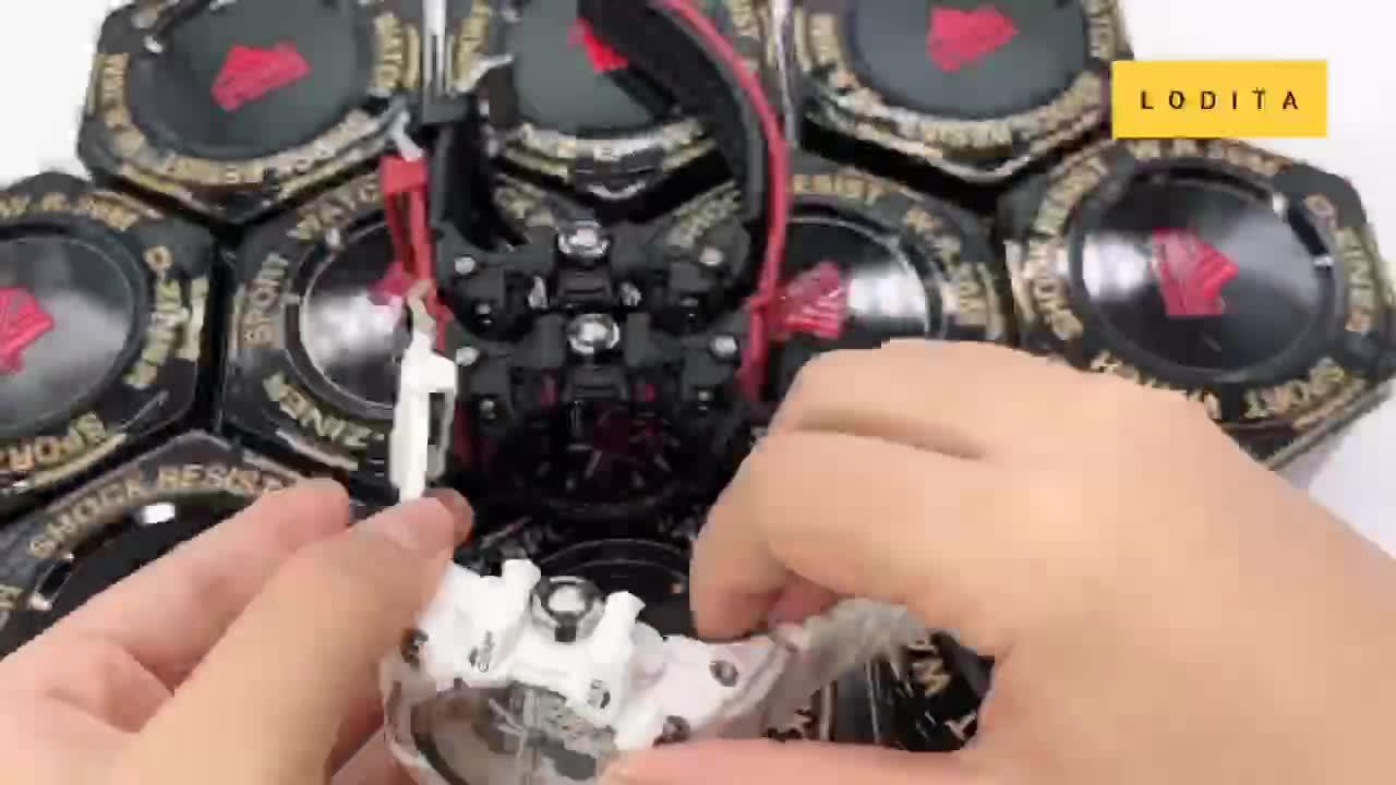 Đồng hồ thể thao nam chính hãng D-Ziner 8119 45mm chống nước - LODITA