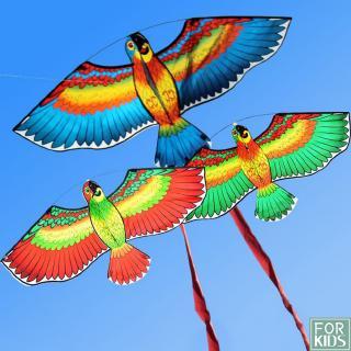 3D Parrots Design Outdoor Toys Flying Kite Kid Adults Children Kite Flying Toys