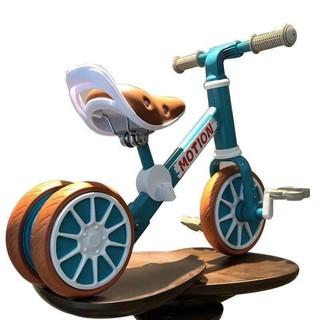 [ Tặng phụ kiện] Xe đạp kết hợp làm xe chòi chân 3 bánh Motion (1-4 tuổi)