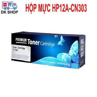 Hộp Mực 12A-CN303 (Premium) – Dùng Cho Máy In HP (1010-1020-3015..) Canon (2900-3000…)