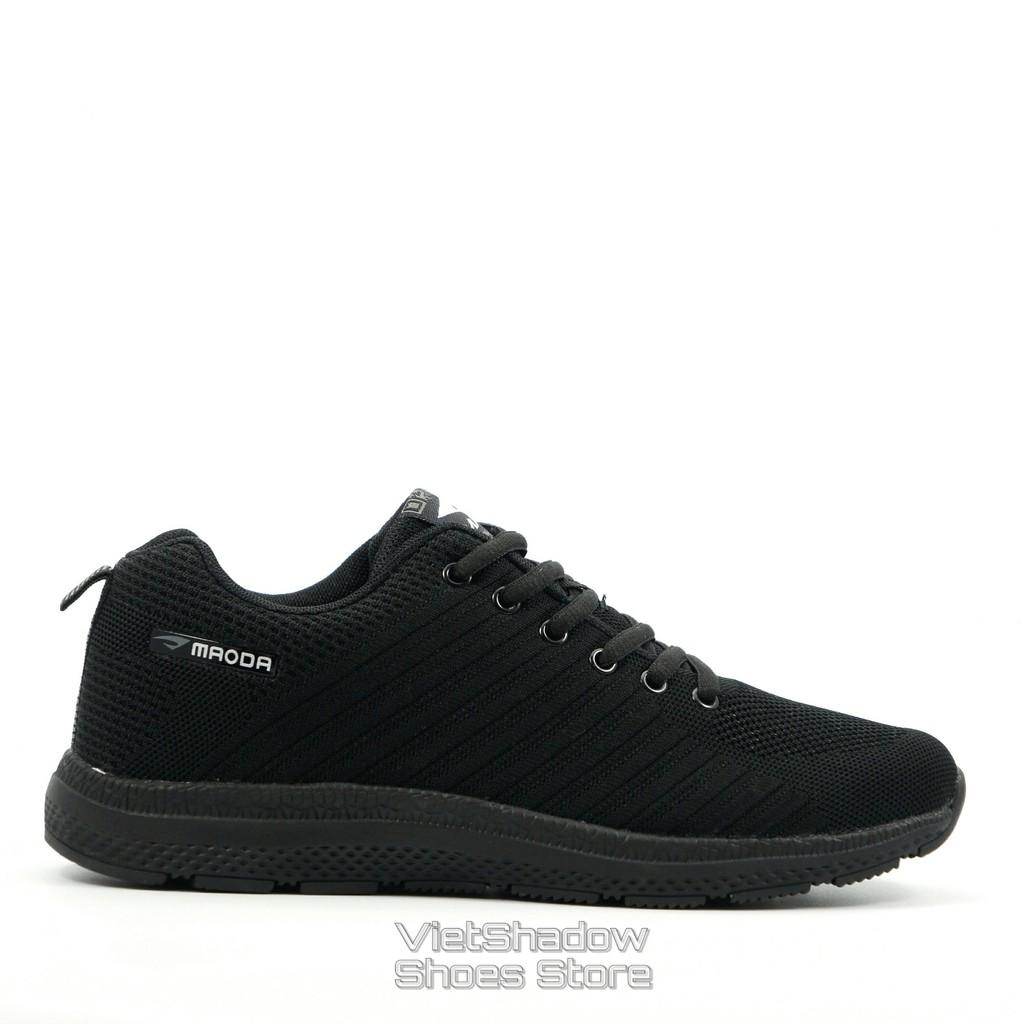 Giày thể thao nam | Sneakers nam thương hiệu MAODA màu đen đế đen - Mã SP 237-đen.tuyền
