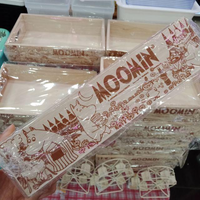กล่องไม้มูมินจากไดโซะ