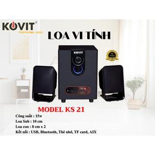 Loa vi tính có Bluetooth Kovit KS 21 Thảo Nguyên Shop