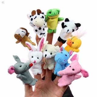 Bộ thú rối 5 con xỏ ngón tay đáng yêu ngộ nghĩnh cho bé vui chơi học tập HÀNG CÒN TRONG KHO