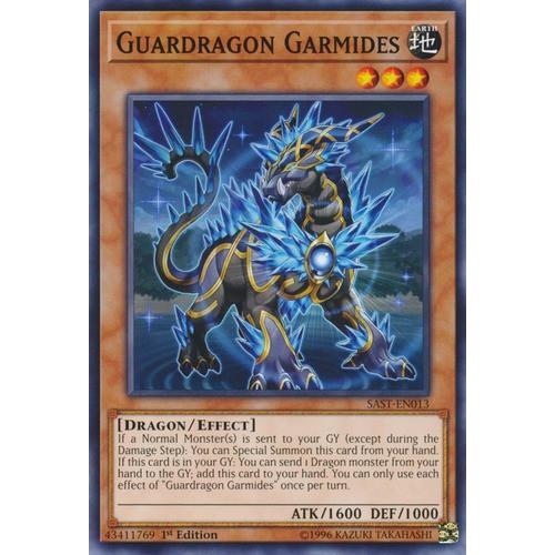 Guardragon Garmides-common-1st edition- bài yughioh chính hãng
