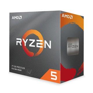 Bộ VXL CPU AMD Ryzen 5 3600 (6C 12T, 3.6 GHz - 4.2 GHz, 32MB) - AM4 - Hàng Chính Hãng thumbnail