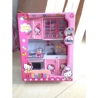 Đồ chơi nhà bếp Modern Kitchen Hello Kitty CÓ NHẠC