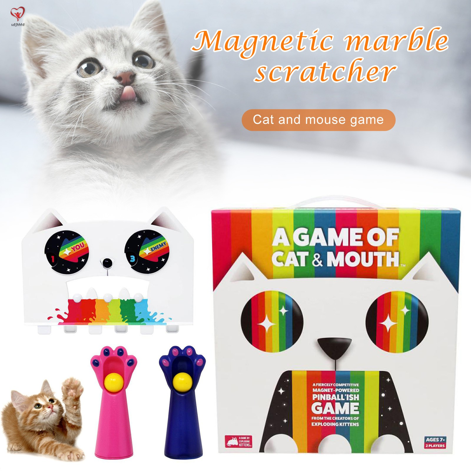 Fiercely Competitive Magnets-Powered Scratcher Highly Addicting Christmas Birthday Gifts for Kids
