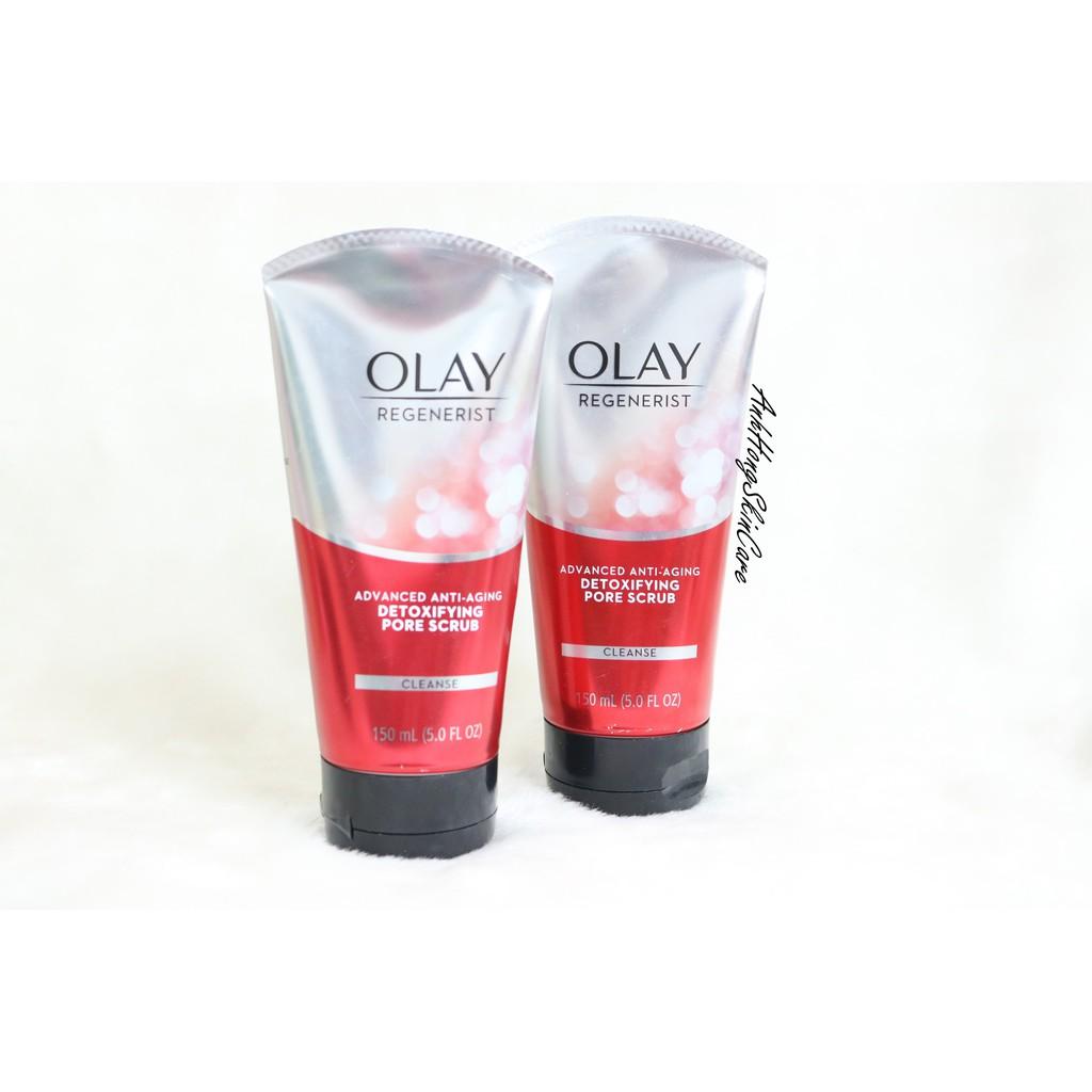 Sữa Rửa Mặt Tẩy Tế Bào Chết Olay Regenerist Advanced Anti-Aging Detoxifying Pore Scrub Cleanser - 3270668 , 886216005 , 322_886216005 , 220000 , Sua-Rua-Mat-Tay-Te-Bao-Chet-Olay-Regenerist-Advanced-Anti-Aging-Detoxifying-Pore-Scrub-Cleanser-322_886216005 , shopee.vn , Sữa Rửa Mặt Tẩy Tế Bào Chết Olay Regenerist Advanced Anti-Aging Detoxifying Por