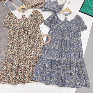 [Mã WABOOM giảm 15% đơn 99k] Váy bầu thời trang công sở chất Hoa Lụa hàng freesize từ 45 đến 70kg