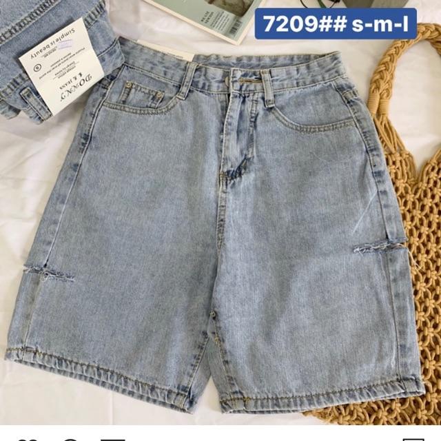 🔹Quần Jeans Ngố Lai Cuốn Rách PT