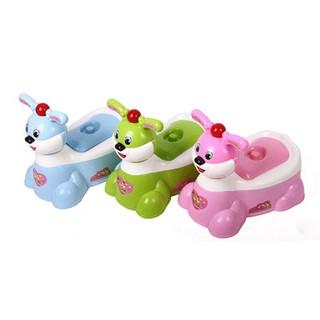 Bô vệ sinh thỏ có nhạc cho bé siêu đáng yêu