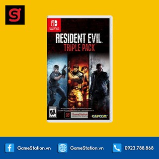 [Mã 157ELSALE hoàn 7% đơn 300K] Resident Evil Triple Pack - Cho Máy Nintendo Switch thumbnail
