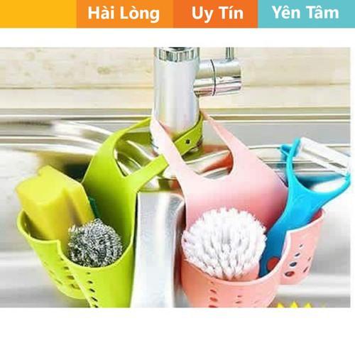 Giỏ nhựa dẻo đựng đồ ở bồn rửa bát
