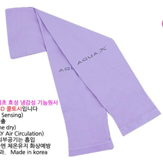 Ống tay chống nắng chính hãng AquaX Hàn Quốc - Màu Tím/ Purple