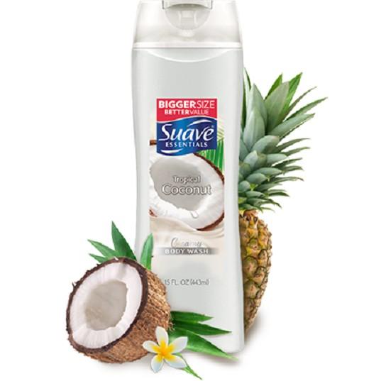 Hình ảnh Sữa tắm Suave Essential hương dừa nhiệt đới 443ml-2