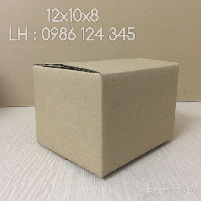12x10x8 Combo 60 hộp carton giá rẻ