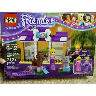 Bộ xếp hình Lego-20012 OS08 Friendes 312 chi tiết