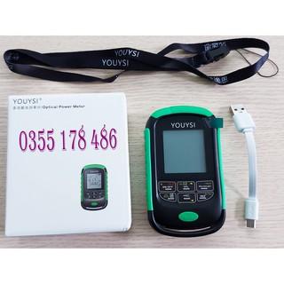 Máy đo công suất mini Youysi kèm soi 15km có Test lan, hỗ trợ sạc và dây đeo hàng cao cấp