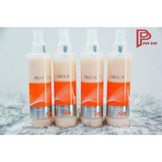 Xịt Dưỡng Tóc Collagen N18 Erayba Siêu Mượt, Gỡ Rối, Chống Nhiệt Bảo Vệ Tóc Khi Sấy Và Uốn- 200ml