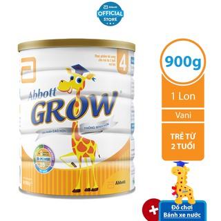[Tặng bánh xe nước] Sữa bột Abbott Grow 4 900g