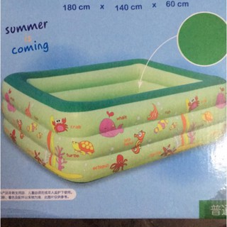 Bể phao bơi 1m8 đáy chống trơn