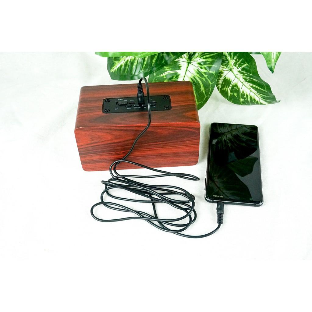 Cáp AUX 2 đầu Jack 3.5mm dài 2m PF1542 nối âm thanh từ loa, tai nghe qua điện thoại, máy tính - Hàng Chính Hãng