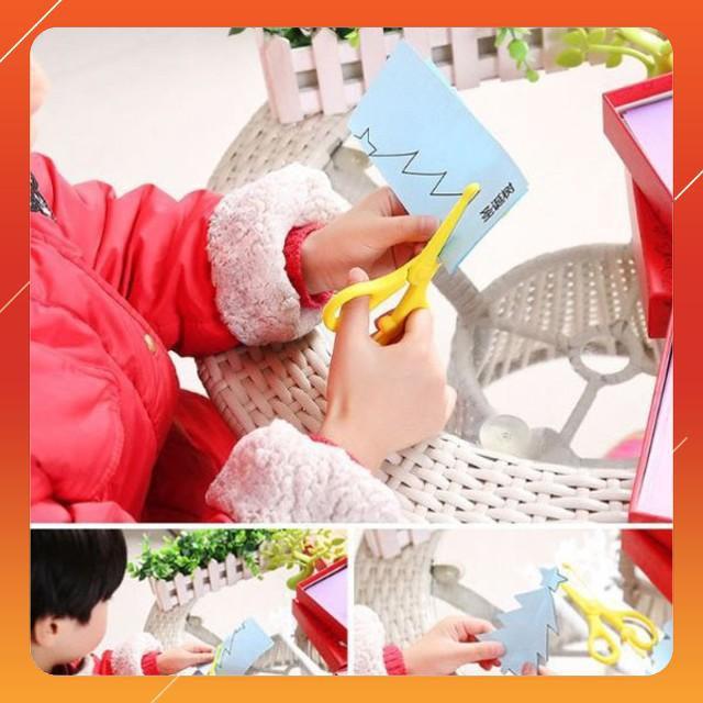 [SALE SẬP SÀN] Bộ đồ chơi cắt giấy tạo hình cho bé | HÀNG MỚI
