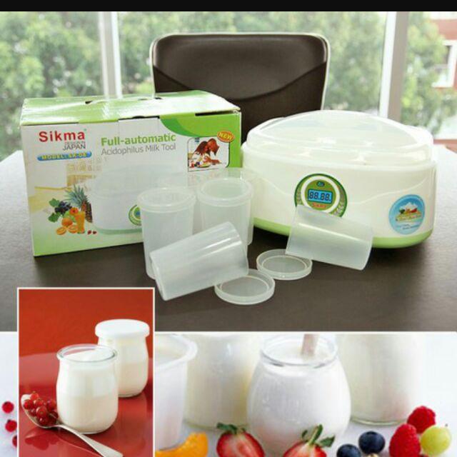 Máy ủ sữa chua sikma công nghệ nhật bản