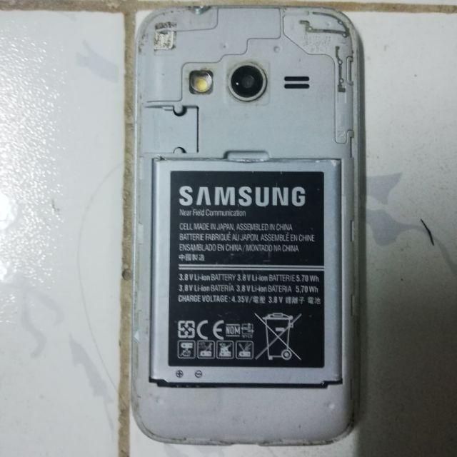 Xác điện thoại samsung G313HZ còn nguồn có video test