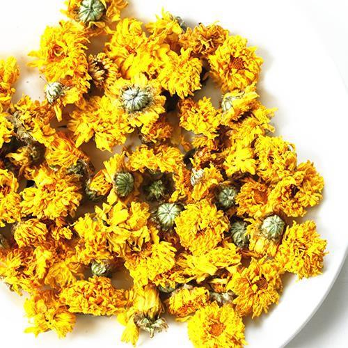 Trà cúc hàm hương - Cúc vàng baby sấy khô 100gram