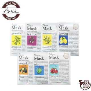 Mặt Nạ Dưỡng Da Hàng Ngày Chiết Xuất Tự Nhiên Ariul 7 Days Mask 20g thumbnail