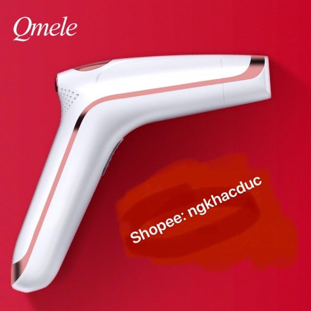 ❤Freeship-Hàng có sẵn máy triệt lông vĩnh viễn Qmele chính hãng 500000 xung