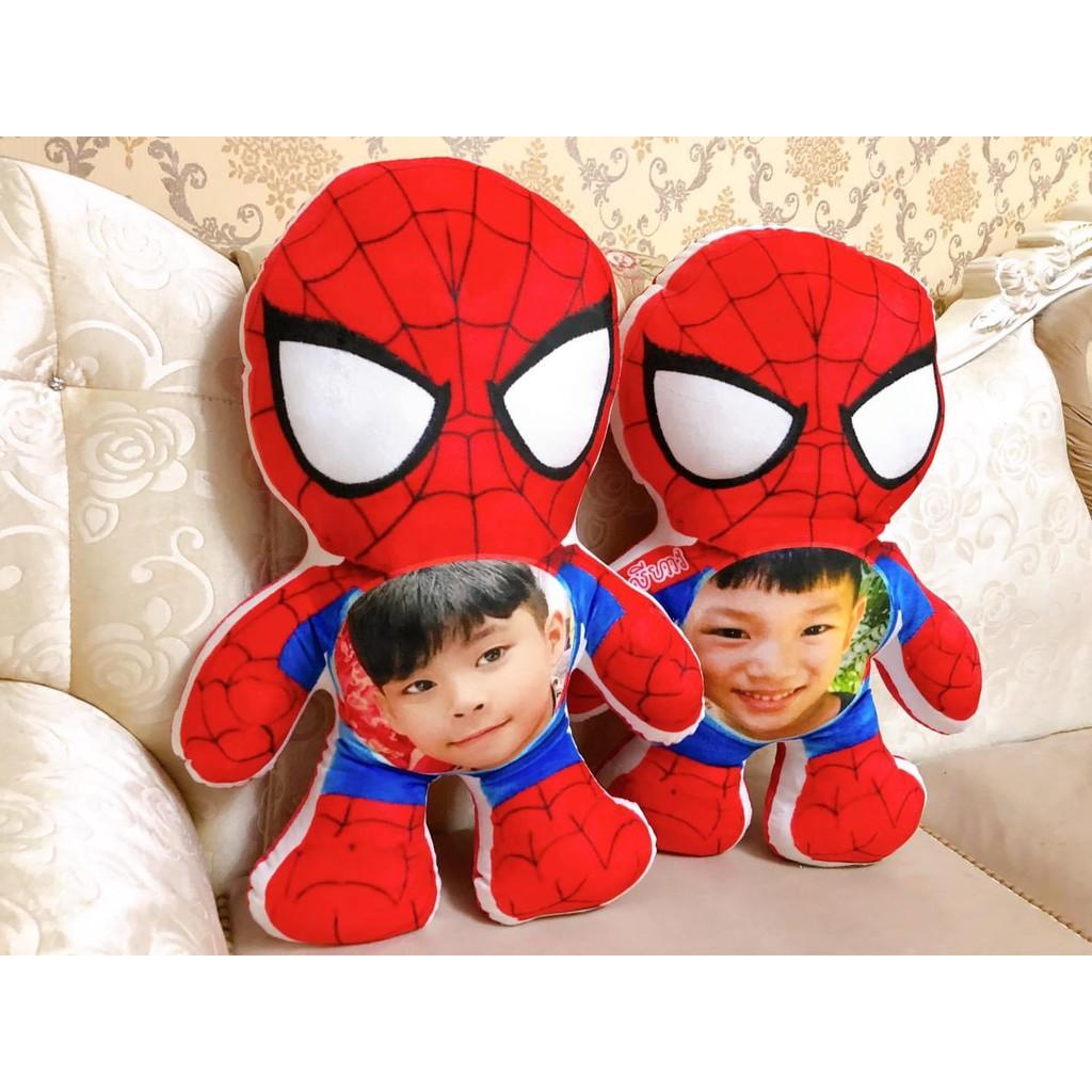 Kid Spiderman nhồi bông in ảnh