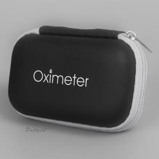 [PRETTYIA1]Travel Fingertip Pulse Oximeters Case Waterproof Blood Oxygen Sensor Bag Storage