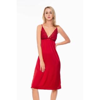 DreamyVD01 Váy ngủ lụa cao cấp hai dây dáng dài quyến rũ thumbnail
